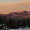 Sunrise glow on Monadnock