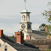 Church steeple in Portsmouth, NH