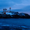 Nubble Light Christmas 2013, York Maine