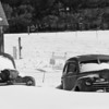 Snowy Cars in Maine