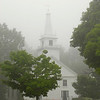 Temple, NH in the fog