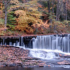 Wilton, NH waterfall in Autumn