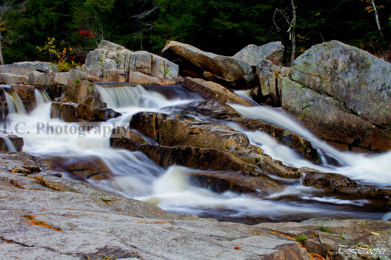 Small waterfall in New Hampshire