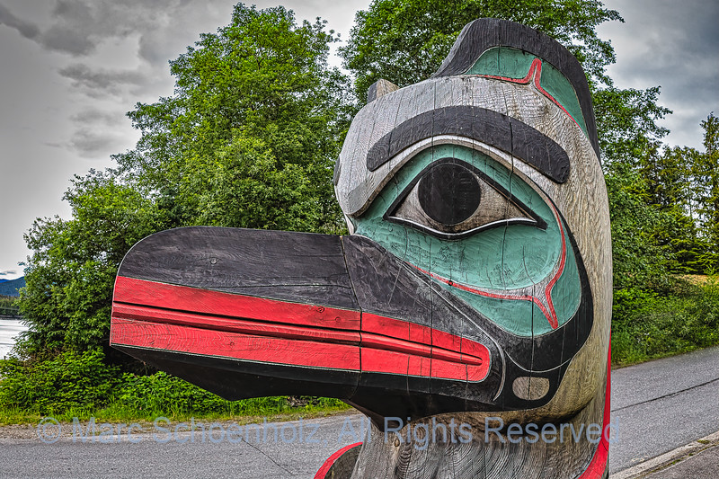 Priceless Collection of 19th Century Tlingit Totem Poles.