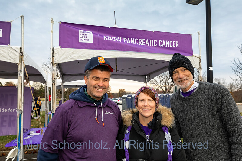 Purple Stride the Walk to End Pancreatic Cancer