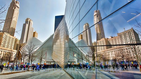 Santiago Calatrava's Oculus WTC Transit Hub