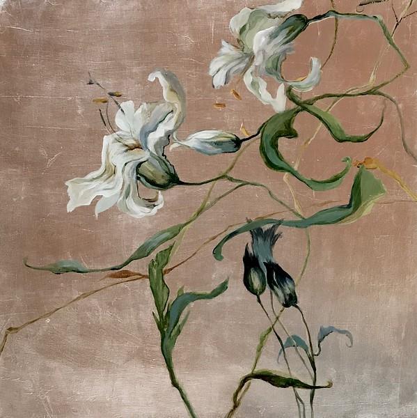 Pursuit of Beauty I-Jardine, 24x24 on canvas