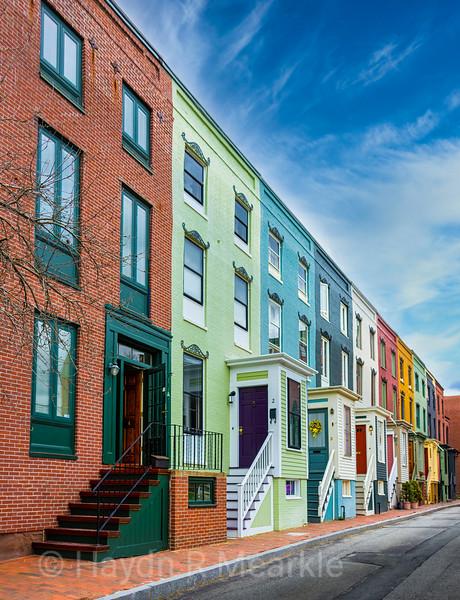 Portland Maine Row Houses