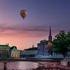 Balloons over Stockholm, Sweden