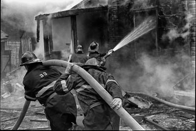 Caledon House Fire, Ontario - 1975