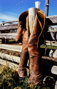 Woodward Ranch, near Merritt, British Columbia - 1984