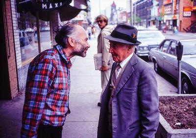 The Annex, Toronto - 1981