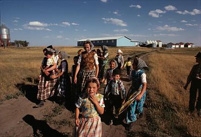 Beechy Hutterite Colony, Saskatchewan - 1984