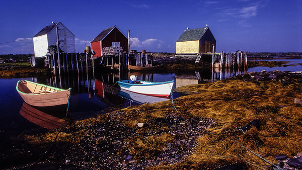 Blue Rocks, Nova Scotia - 1984