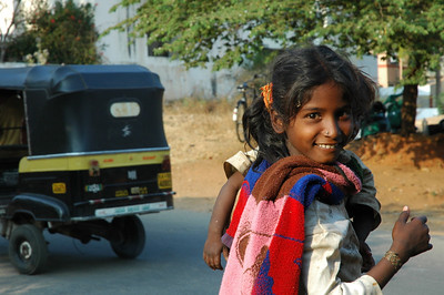 hitch hiker girl / Mysore