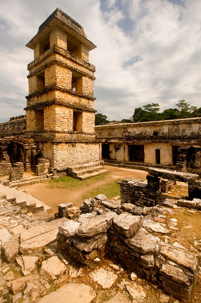 Tower and Ruins, Palenque