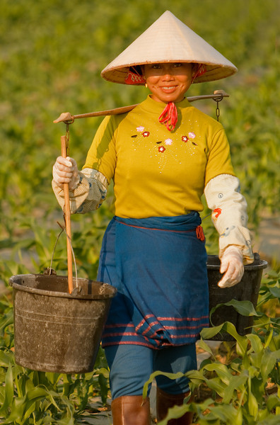 Watering The Crops, Xishuangbanna