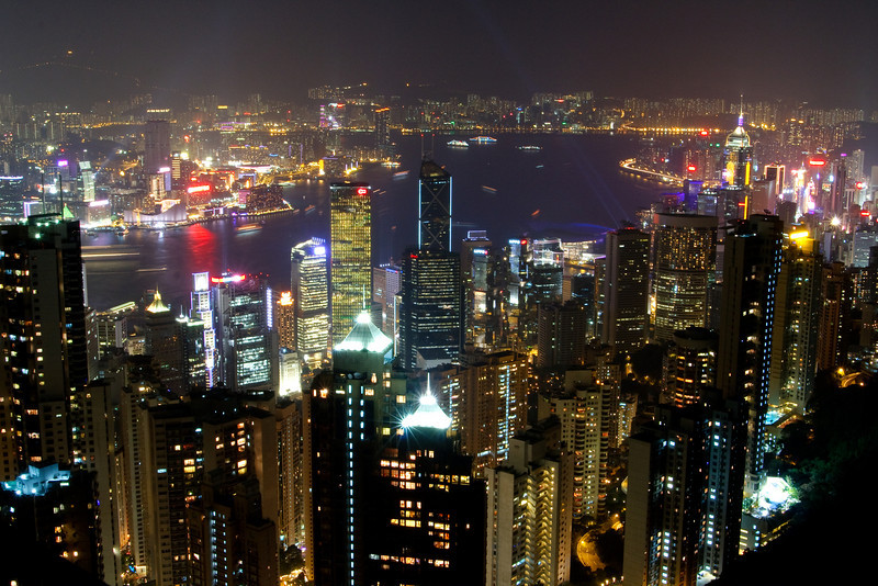 Skyline, Hong Kong