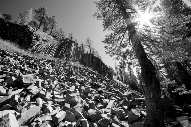 Rock and Sunstar, Devil's Postpile