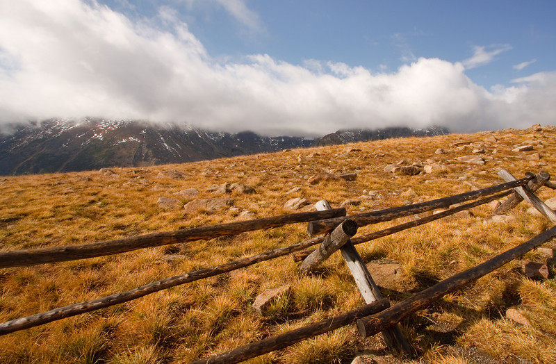 Fence And Fog
