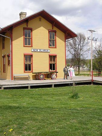 The historic New Glarus Depot