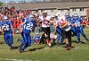 NGM Playoff 10-30-10 : Although the Knights played hard, they lost 49-14 to Brodhead- Juda  in the 2nd round playoff game held in New Glarus on October 30, 2010.