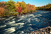 Fall along the Androscoggin River