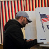 KRISTOPHER RADDER — BRATTLEBORO REFORMER<br /> New Hampshire residents head to the polls to cast their ballots in the presidential primaries on Tuesday, Feb. 11, 2020.