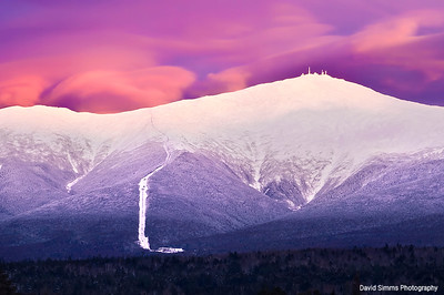 Alpenglow on Mt. Washington