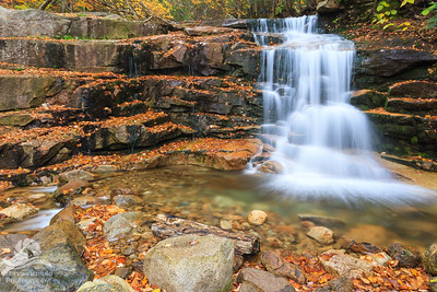 White Mountains Waterfall