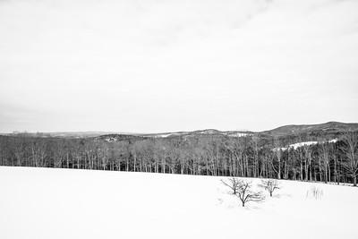 Winterscape / Etna, New Hampshire