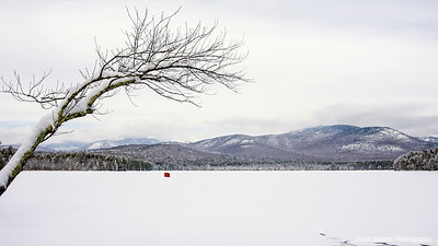 Winter at Lake Chocorua
