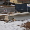 Still lots of siding in the front yard for the existing house and garage.  In real life it's not so out of focus.