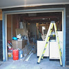 It will get moved forward to the new front of the garage and I'll get a real live garage door opener - parking in the garage - what a concept!
