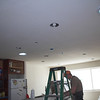 Darryl is doing electrical things also - the pendant lights over the island go in the 3 small boxes in a row.