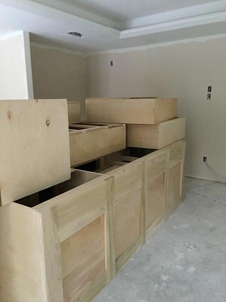Cabinets Delivered