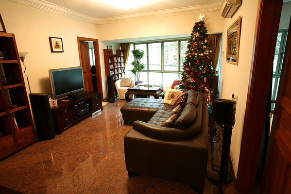 Living room: sitting area
