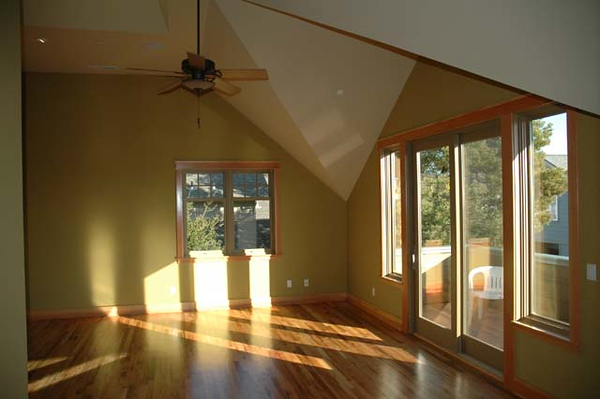 Dillehay residence: master bedroom