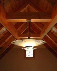 Wyrsch residence: ceiling detail