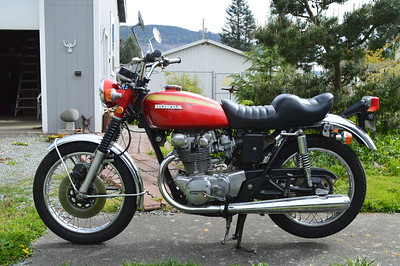 New Honda CB450 1972
