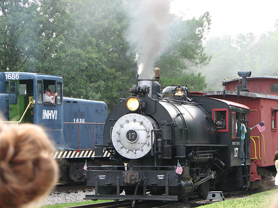 New Hope Valley Railway 070608