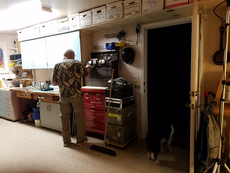 More garage.