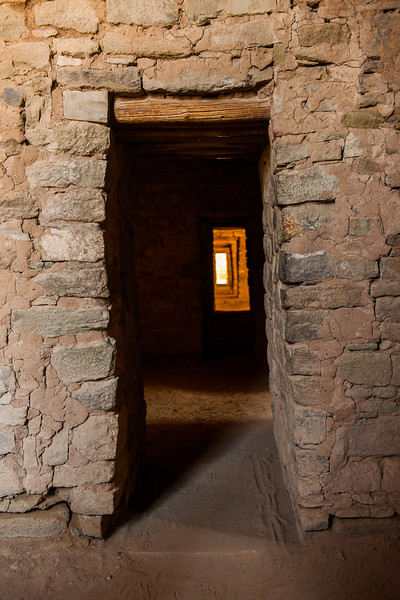 Aztec Pueblo Entrance