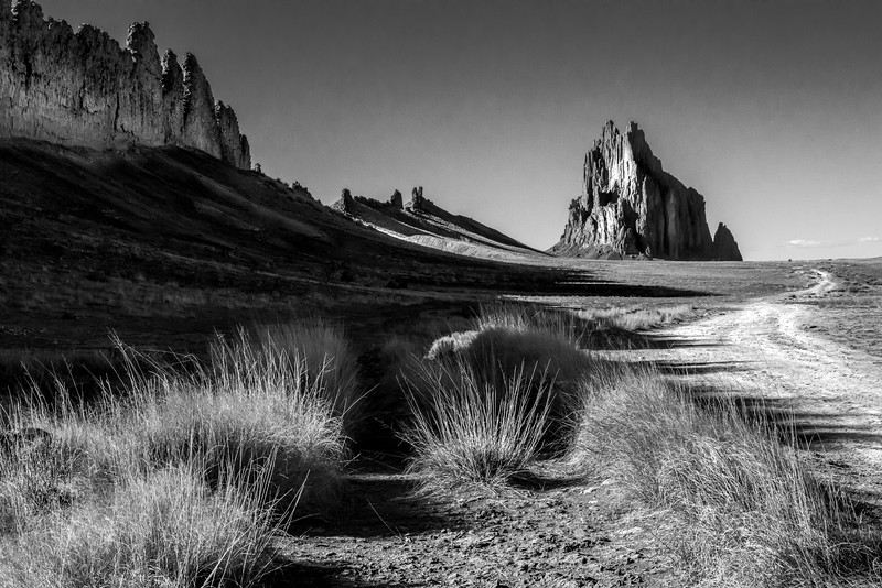 Shiprock, Afternoon
