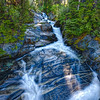 This is the First Leap of the Paradise River as it Comes Out of The Paradise Valley. The Next Hurdle is Narada Falls.