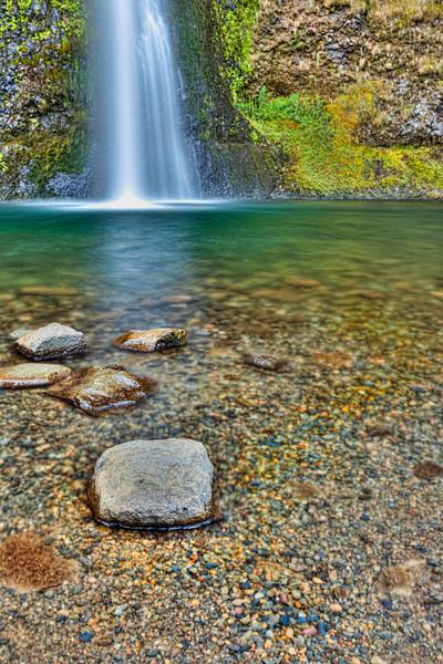 Horsetail Falls Pool