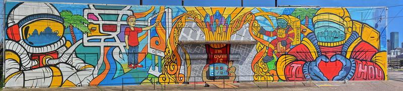 McDonald's Icon Wall on St Emanual Street