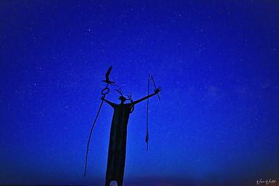 Twilight at Seminole Canyon