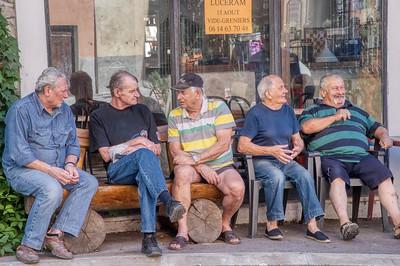 Old Men of  Lucéram
