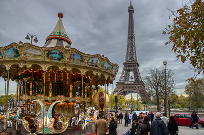 Carousel at the Eifel